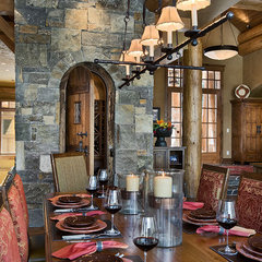eclectic dining room by Design Associates - Lynette Zambon, Carol Merica