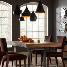 Industrial Dining Room by Zin Home