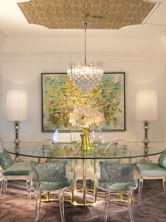 lucite dining chairs | houzz