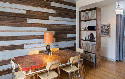 Houzz TV: Cool Reclaimed Wood Projects Fill a Craftsman's Home