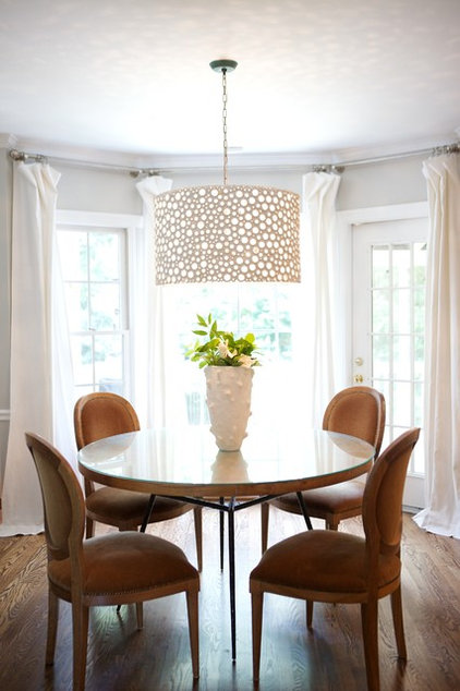 eclectic dining room by Heather Garrett Design