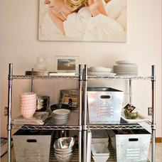 Eclectic Dining Room Organization