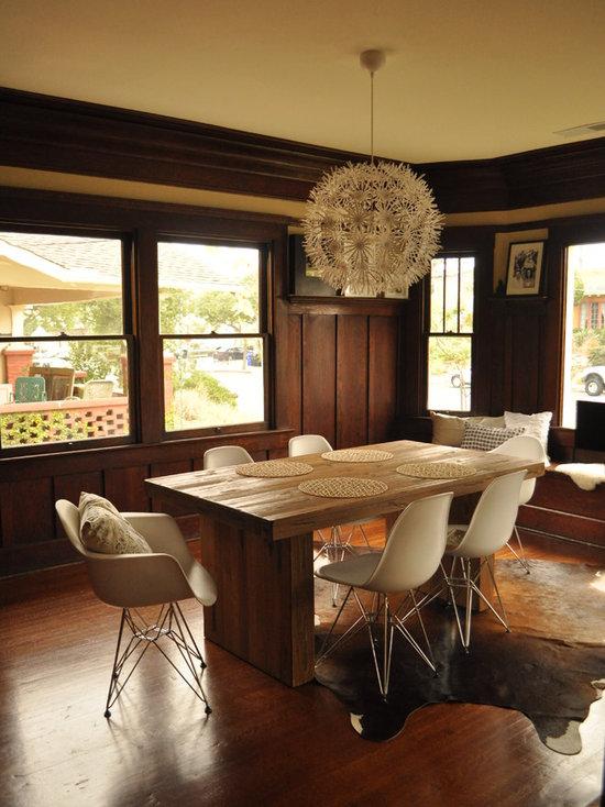 Mid Century Modern Dining Room Tables mid century modern dining table | houzz