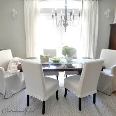Eclectic Dining Room by Centsational Girl