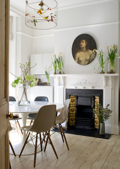 Eclectic Dining Room by Katharine Peachey