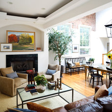Eclectic Dining Room by Kathryn Ivey Interiors