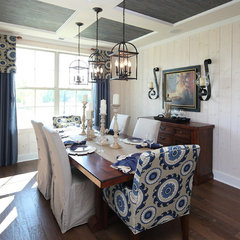 eclectic dining room by Standard Pacific Homes Byers Creek
