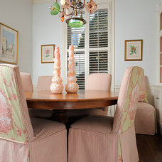 Eclectic Dining Room by Kelly Nelson Designs