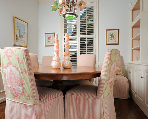 Skirted Parsons Chairs | Houzz