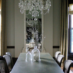 eclectic dining room by Rebekah Zaveloff