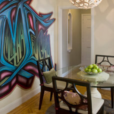 Eclectic Dining Room by Lawanna Cathleen Design