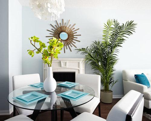 miroir au dessus chemin e photos et id es d co de maisons. Black Bedroom Furniture Sets. Home Design Ideas