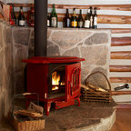 Stone Surround For Wood Burning Stove Traditional