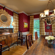 Traditional Dining Room by Liza Jane Interiors