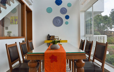 How to Accent a Double-Height Wall