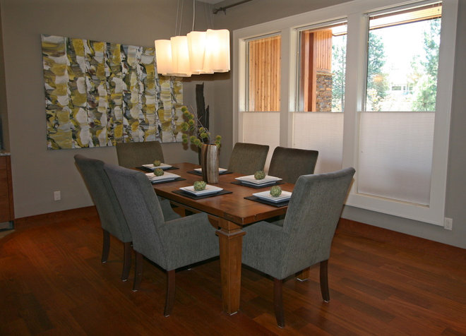 Eclectic Dining Room by Taylor Design