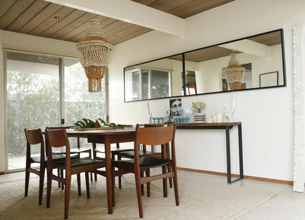 30 Incredible Eclectic Dining Designs: See Amazing Remodels Of Eichler Homes