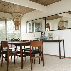 Midcentury Dining Room Eclectic Eichler Dining Room
