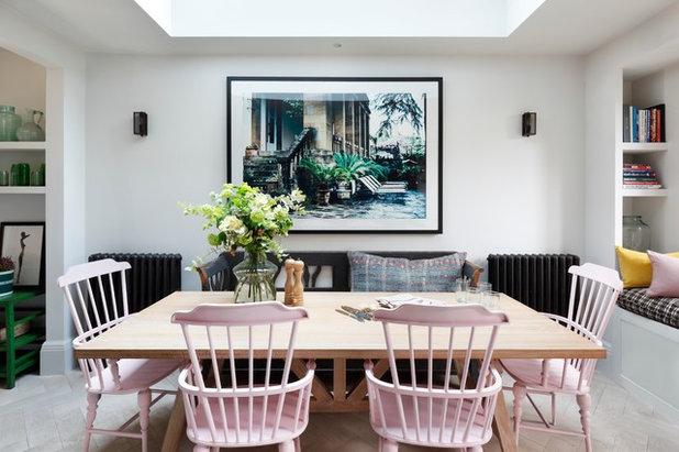 Eclectic Dining Room by Studio Duggan Ltd