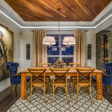 Eclectic Home in Kinniburgh Chestermere