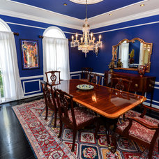 Traditional Dining Room by Robin Hiken Interiors