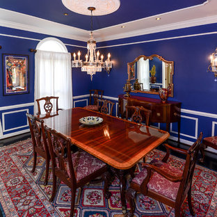 Photo of a traditional dining room in Baltimore.