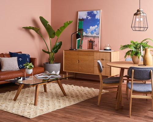 Piccola Sala Da Pranzo : Piccola sala da pranzo con pareti rosa foto idee arredamento