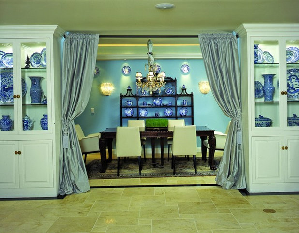 Traditional Dining Room by Tracy Murdock Allied ASID
