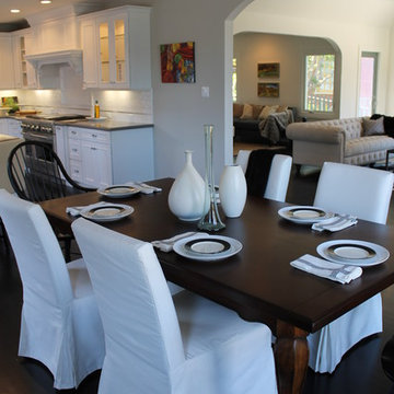 Eclectic Modern Dining Room in Silverlake, CA