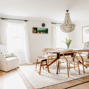 Inspiration for a transitional dining room remodel in Omaha