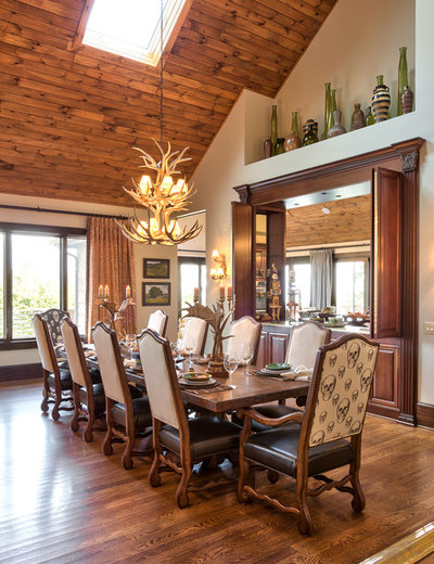 Houzz Tour Roughing Up A Fancy Mountain Home