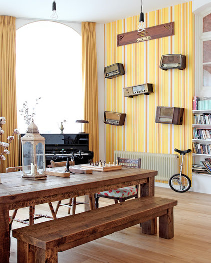 Eclectic Dining Room by Avocado Sweets Interior Design Studio