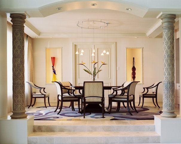 Eclectic Dining Room by Ernesto Garcia Interior Design, LLC