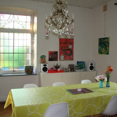 Eclectic Dining Room Eclectic Swedish Country House