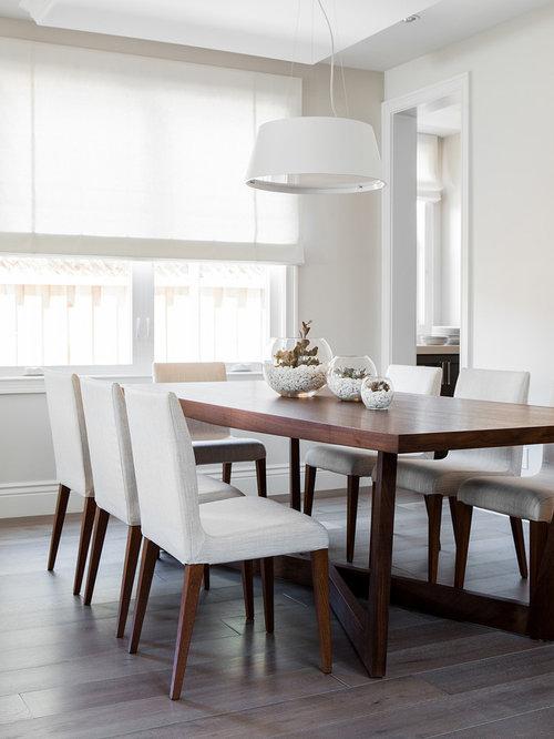 Minimalist Dining Room Houzz
