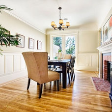 Traditional Dining Room by Eco+Historical, Inc.