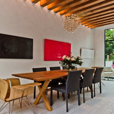 Contemporary Dining Room by Alexandre Parent