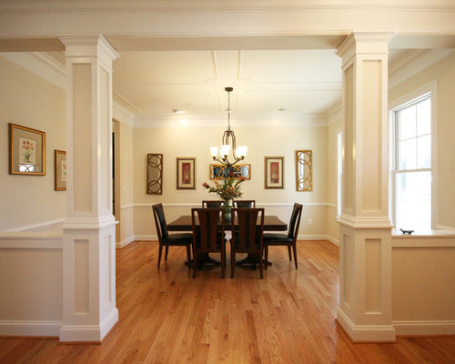 Dining Room Columns Ideas Pictures Remodel And Decor