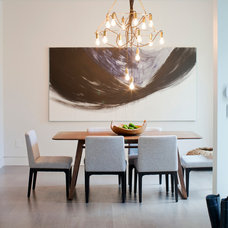 Contemporary Dining Room by PURE Design Inc