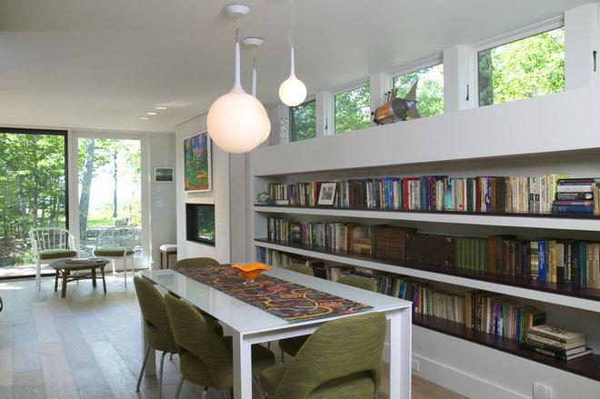 Modern Dining Room by Knight Associates