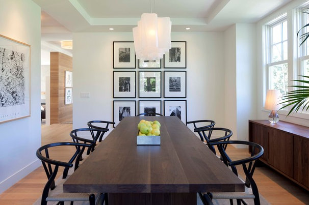 Contemporary Dining Room by Elevation