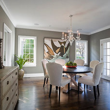 Traditional Dining Room by JALIN Design, LLC
