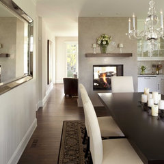contemporary dining room by Andrea Swan - Swan Architecture