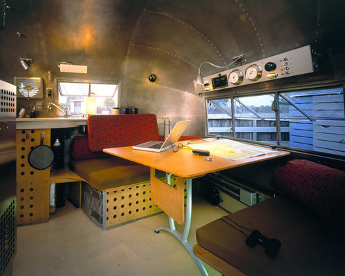 Modern airstream home design ideas pictures remodel and for Airstream decor