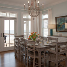 Beach Style Dining Room by Riverside Designers