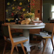 Eclectic Dining Room by Rob Edman