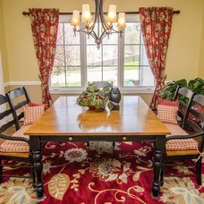Traditional Dining Room by Christina Cavin