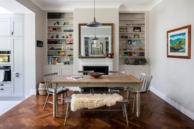 Contemporary Dining Room by Imperfect Interiors