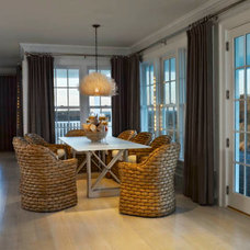 Contemporary Dining Room by Kathleen Hay Designs