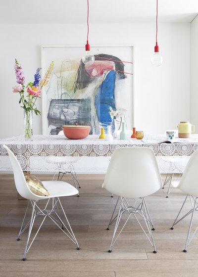 Moderno Sala da Pranzo by gosto design & lifestyle